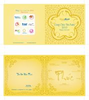 2010 New Year greeting card by maitram