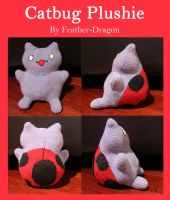 Catbug Plushie by Feather-Dragon
