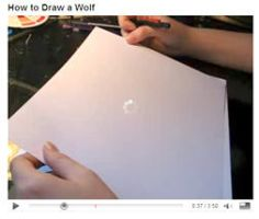 How 2 Draw a Wolf Part 2 Video by lady-cybercat