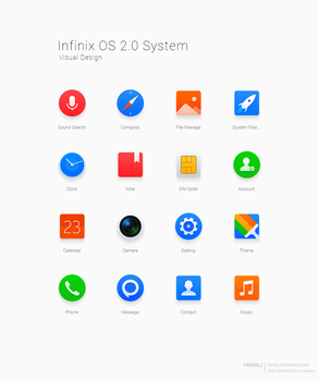 Infinix OS 2.0 Icon by fengsj