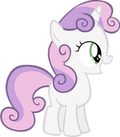 Sweetie Belle by isaacmorris