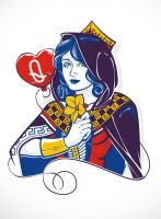 Queen of Hearts by dracoimagem-com