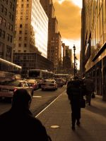 lexington avenue by Mjag