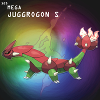 Mega Juggrogon S by SteveO126