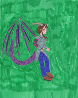 Ender Dragoon by AngelWarriorQueen