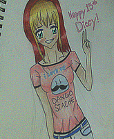 Happy 15th Dicey! I luv you!! by vocalover9326