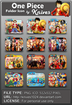 One Piece Anime Folder Icon by Knives by knives1024