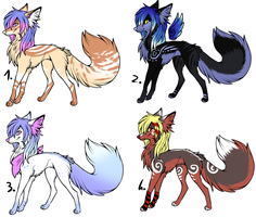 CLOSED - Canines Adoptables 327 by LeaAdoptables