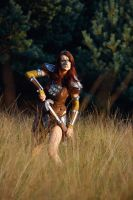 Aela the Huntress IV by o0shokei0o