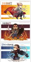 The Hobbit-postcard by Athew