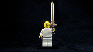LEGO Goddess Longsword by mingles