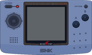 SNK Neo Geo Pocket Color by BLUEamnesiac
