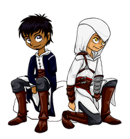 Friends for Life -Altair Malik by Blaknite
