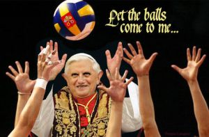 Pope Volley by Priapo40