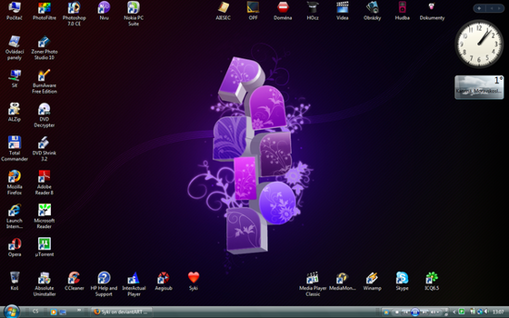 Desktop VII - Passion by Syki