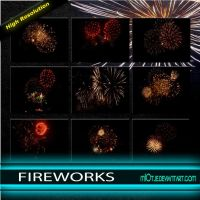 Fireworks effects HQ by M10tje