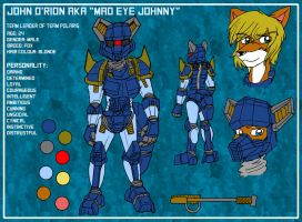 John O'rion Reference and Bio sheet by Micgrol