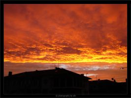 Burning Sky by afv