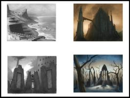 Environments thumbnails by ARTOFJUSTAMAN