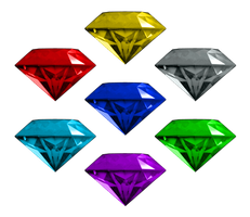 Chaos Emeralds (Sonic Generations) by Banjo2015