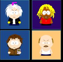 South Park Hunger Force by WibSkelDS9