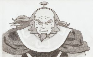 Uncle Iroh by KN-KL