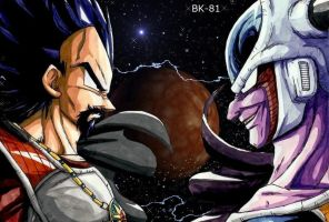 King Vegeta Vs King cold edit by BK-81