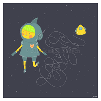 Space Cadet by liljeska