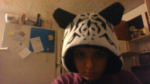 Unfinished Tiger hood 1 by Nakumah