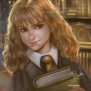 Hermione | Speedpaint by RaideDeviant