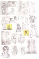 Sketchdump 4 by ArkanFire