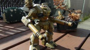 MBR-04-MK VI TOMAHAWK Destroid 035 by THE-WHITE-TIGER