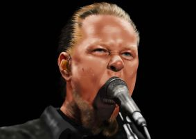 james hetfield by blackgabriel