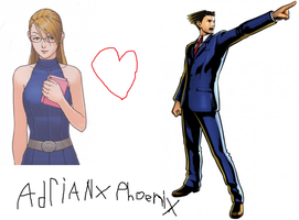 adrian andrews x phoenix wright by goldranger91