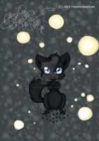 Black kittie kat by TwistedBlueEyes2