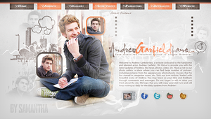 Andrew Garfield Header by CrimsonHeartx