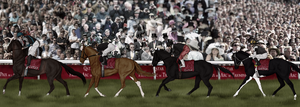 Parading Towards the Start by SageSinRiddle