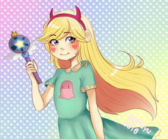 AT:Star Butterfly by Iahfuyu