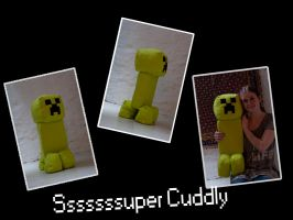 Creeper Plushie! by Djurtjejen