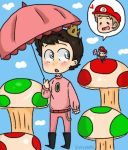 Super Dean and Prince Cas by Evil-Lokitty