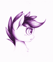 Scootaloo (Traditional Animation/GIF Test) by MyLittleSuki