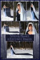 Exclusive: Winter Maiden Pack by lindowyn-stock