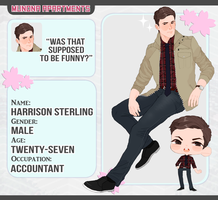 [M-A] Harrison Sterling by DANCH0U
