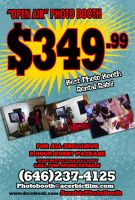 Photobooth Service Summer Sale Flyer by misterzubair