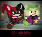 Alpaca Harley and The Joker by Witchiko