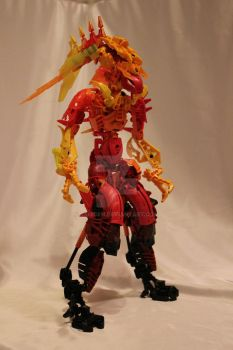 Bionicle MOC: Overheat by Rahiden