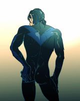nightwing by eimy1992