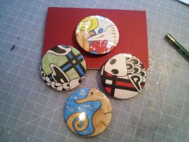Artcrossing button gift from Silverstream06 by Pepper-Dragon