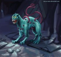 The Demon Cat -Adventure Time by cat-on-mars