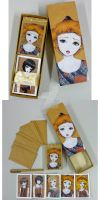 Doll Stationery by NatashaHutton